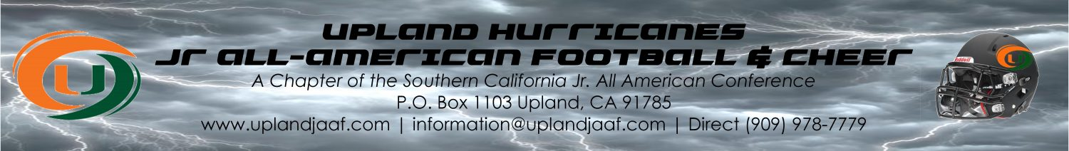 Upland Hurricanes Jr. All-American Youth Football & Cheer